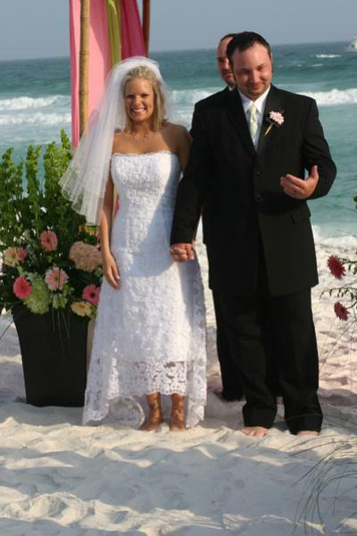 Destin Beach Weddings on Beachside Inn   Destin Beach Weddings