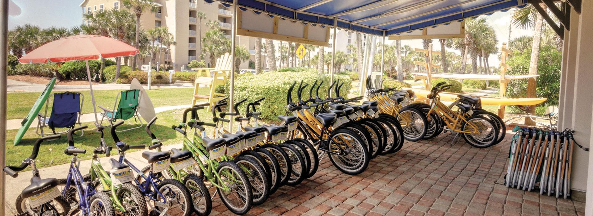 Onsite Bicycle Rental